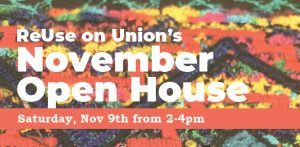 November Open House flier