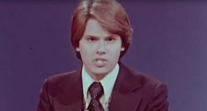 Stan BOney anchoring WOUB's Newswatch
