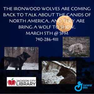The Ironwood Wolves flier