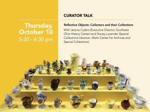 Curator talk flier