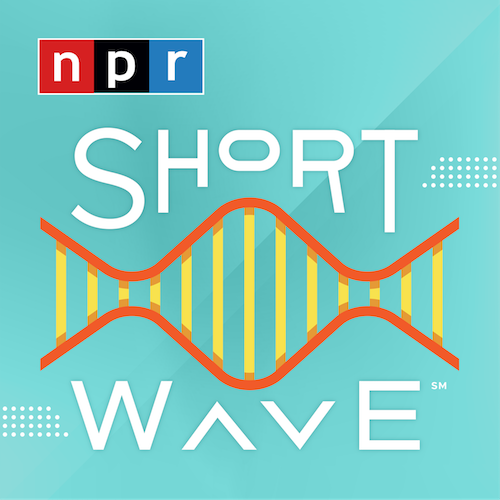 Square logo for Short wave podcast
