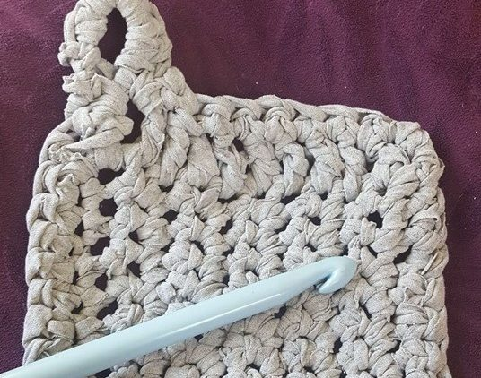 A crochet project