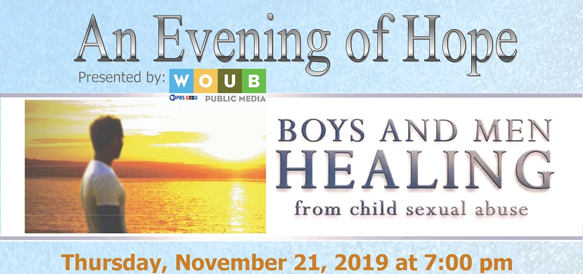 """Evening of Hope"" flyer"