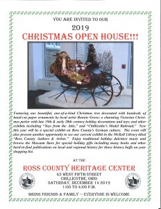 Christmas Open House flier