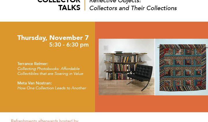 Collectors Talk flier