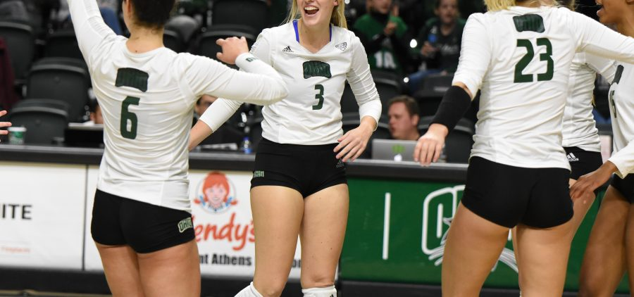 Ohio Volleyball, Lizzie Stephens