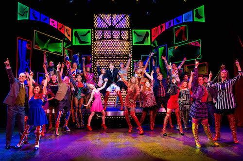 Ensemble of Broadway show: Kinky Boots