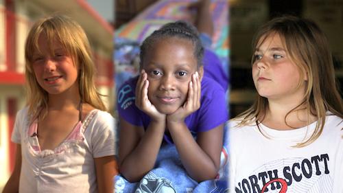 """Three girls featured in Frontlines """"Poor Kids"""""""