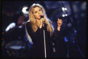 Vocalist Stevie Nicks of Fleetwood Mac.