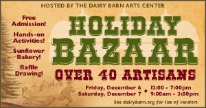 Holiday Bazzar flier