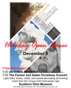Holiday Open House fliers