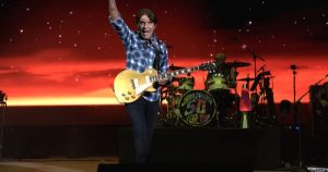John Fogerty on stage in concert