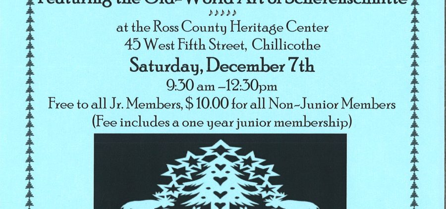 Junior Member Holiday Program flier