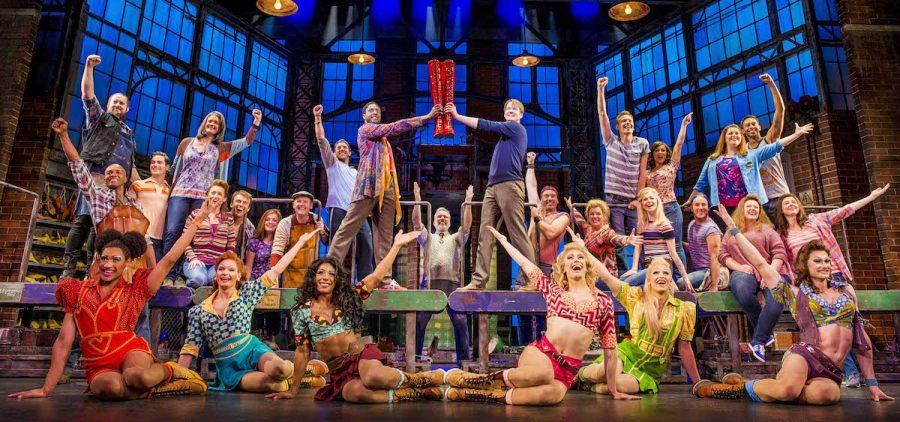 Broadway Show Kinky Boots Ensemble