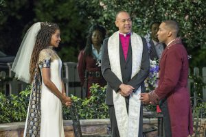 Wedding during Much Ado About Nothing