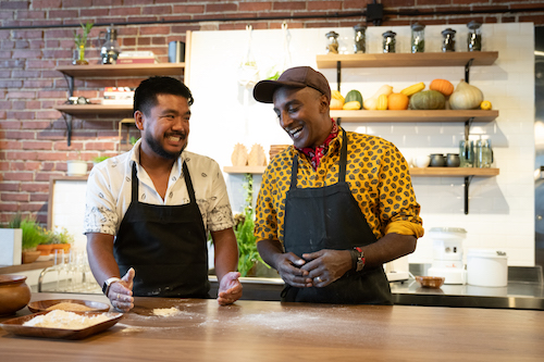 "Chef Marcus Samuelsson and Chef Aaron Verzosa- NO PASSPORT REQUIRED, Season 2 ""Seattle"""
