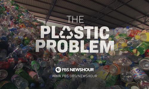 """The Plastic Problem"" program slide"