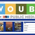 Screen shot of WOUB Merchandise Shop