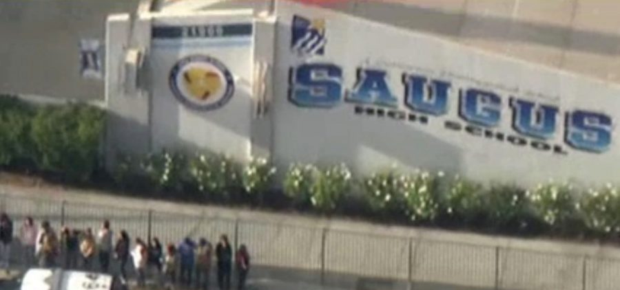 At least five people were injured at Saugus High School in Santa Clarita, Calif., where authorities say a gunman opened fire Thursday.
