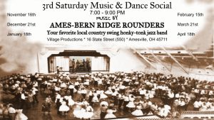 Music and Social Dance flier