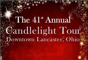 Candlelight Tour flier