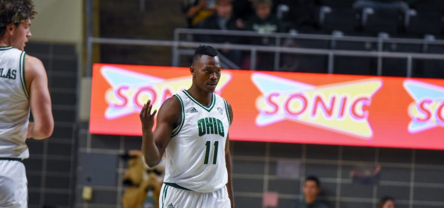 Sylvester Ogbonda, Ohio Basketball