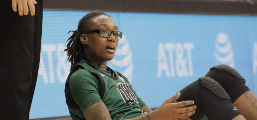 Ohio Women's Basketball Erica Johnson