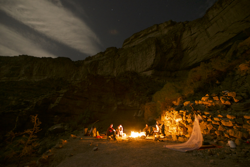 Camp in Jebel Shams