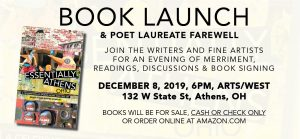Book launch flier