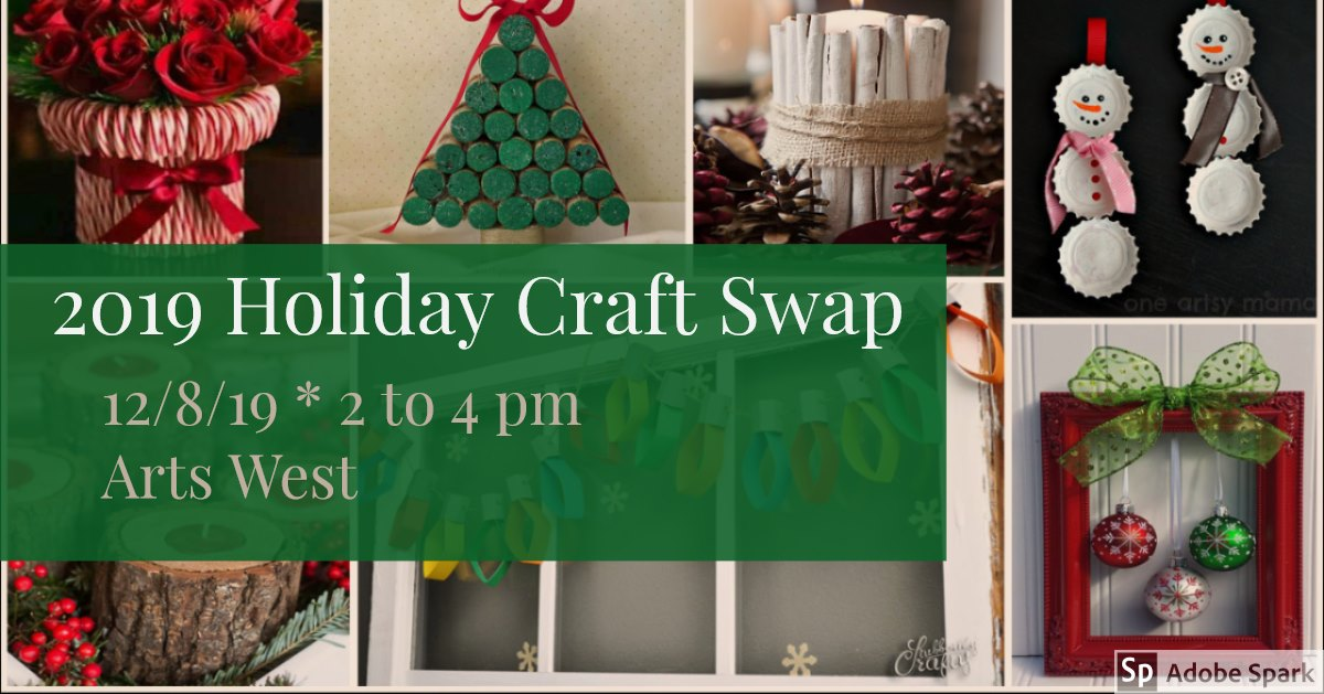 Holiday Craft Swap flier
