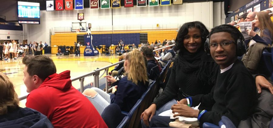 Kent State hosted its firts 'sensory-friendly' game on Saturday for fans like April Stevens' son, who has autism, but loves basketball and Kent State's Kalin Bennett -- the first autistic player signed by a Division I program.