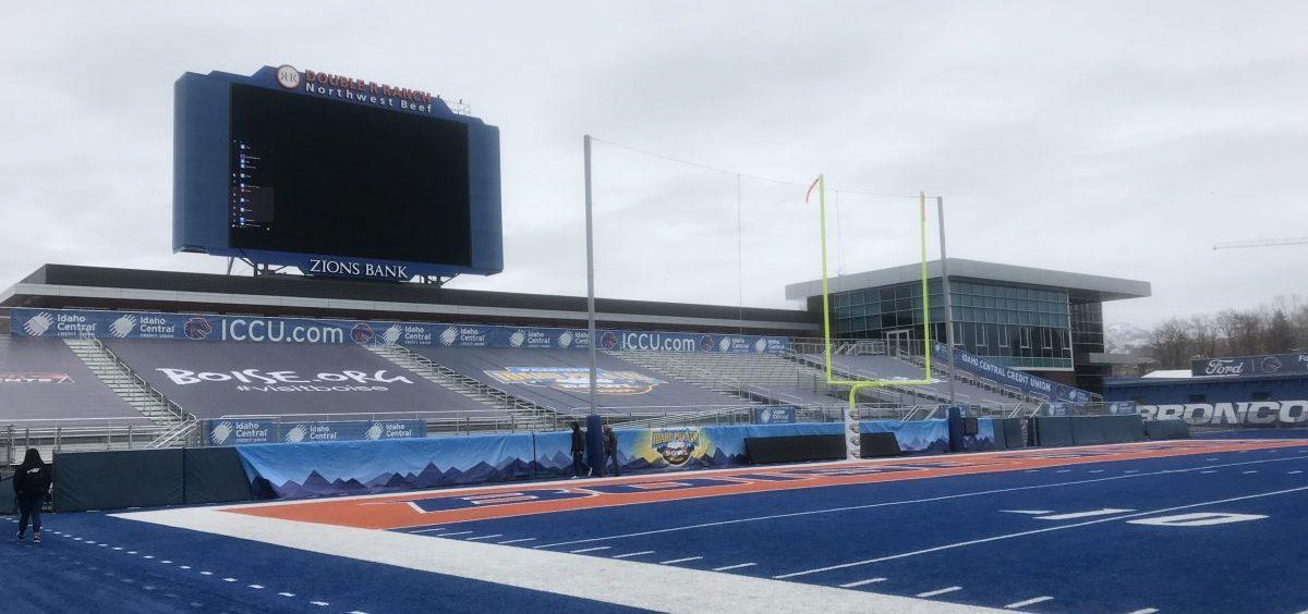Albertsons Stadium in Boise, ID
