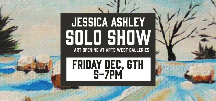 Jessica Ashley Solo Show flier