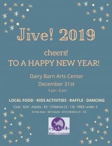 Jive! 2019 flier