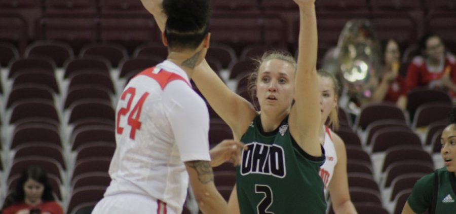 Ohio Women's Basketball Katie Barker