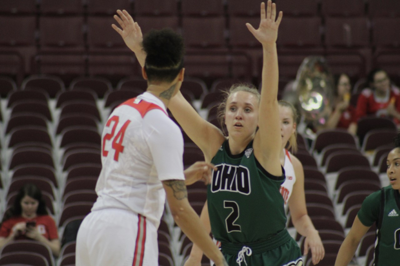 Ohio Women's Basketball Katie Barker