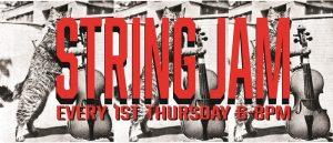String Jam flier