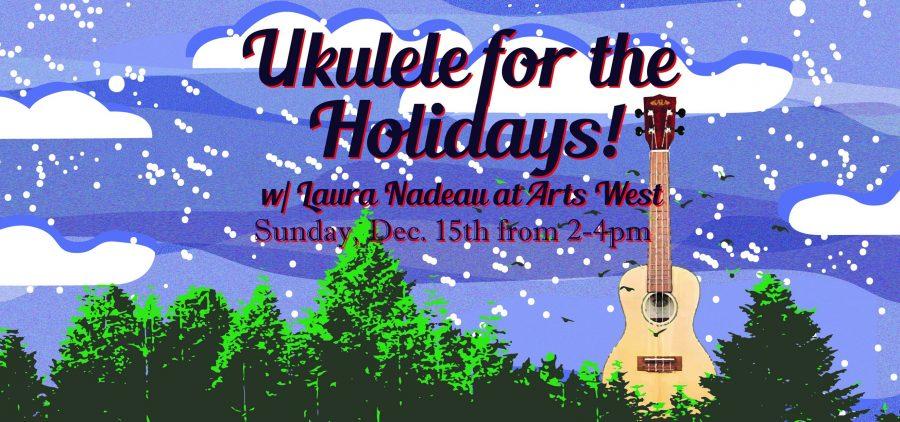 Ukulele for the holidays flier