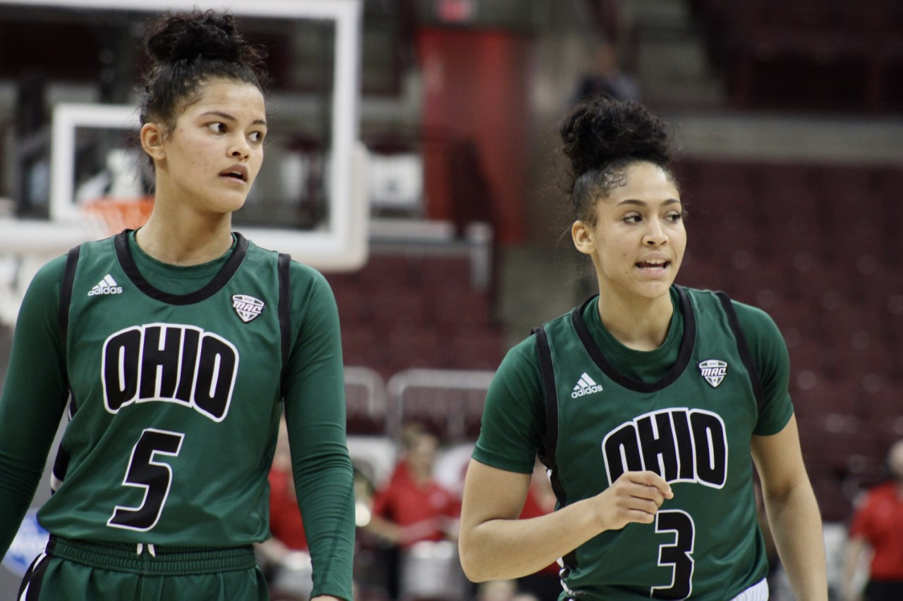Ohio Women's Basketball Caitlyn Kroll Amani Burke