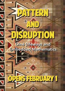 Pattern and Disruption flier
