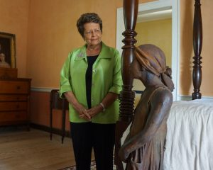 Sybil Haydel Morial is a descendant of a slave held captive at the Whitney Plantation.