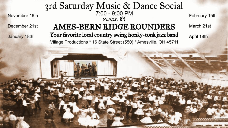 Music and Dance Social