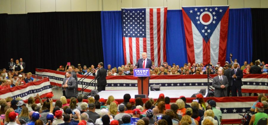 Donald Trump at Columbus Convention Center