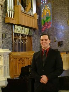 Anthony Humphrey and an organ