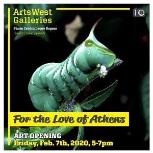 For the Love of Athens flier