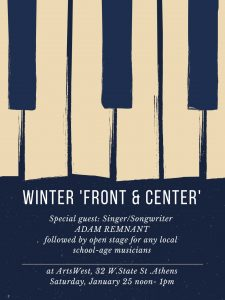 Winter Front and Center flier