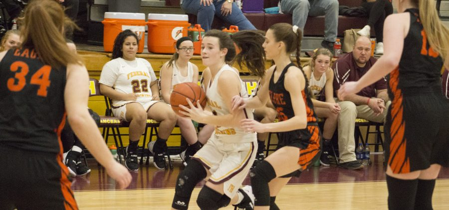 Federal Hocking Lady Lancers Belpre Lady Golden Eagles