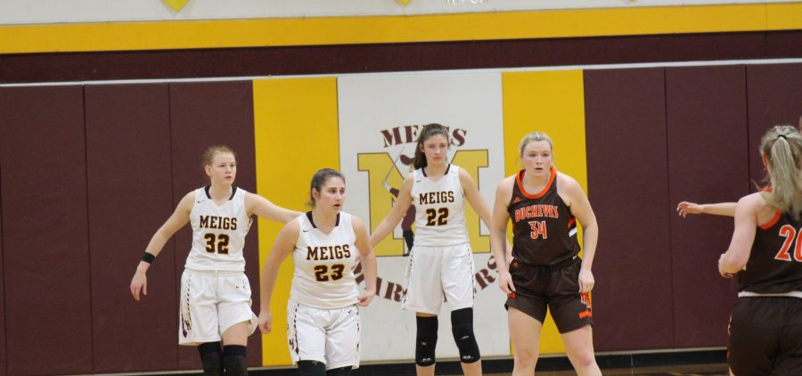 Meigs Lady Marauders Nelsonville-York Lady Buckeyes