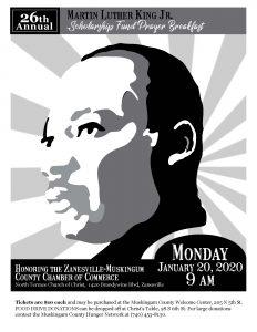 MLK Scholarship Fund flier
