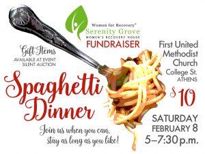 Spaghetti Dinner flier